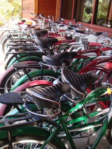 Full bike rack outside New Belgium Brewery in Fort Collins, Colorado (photo by theregeneration via Flickr)