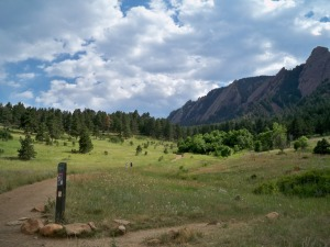 Hiking path in Boulder Colorado (photo by Aaron Dalton)