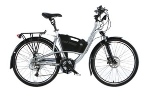 The top of OHM's urban line - the XU700 bike