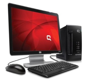 Compaq's energy-efficient CQ2009F desktop computer