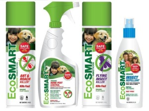 EcoSmart Value Bundles provide savings on natural, organic insecticides and repellents