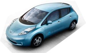 New Nissan Leaf Electric Car (photo via Nissan website)