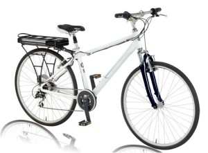 Izip Via Rapido Electric Bike - Diamond Frame/Men's Version (photo via Izip website)