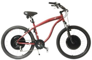 Maybe you would prefer your E+ electric bike in a Beach Cruiser style? (photo via Electric Motion Systems website)