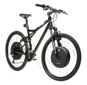 The powerful, rugged E+ Elite Mountain Bike (photo via Electric Motion Systems website)