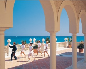 Getting fit at The Breakers (image courtesy of Palm Beach Convention and Visitors Bureau)